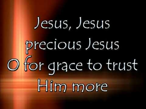 Lyrics to Tis So Sweet to Trust in Jesus