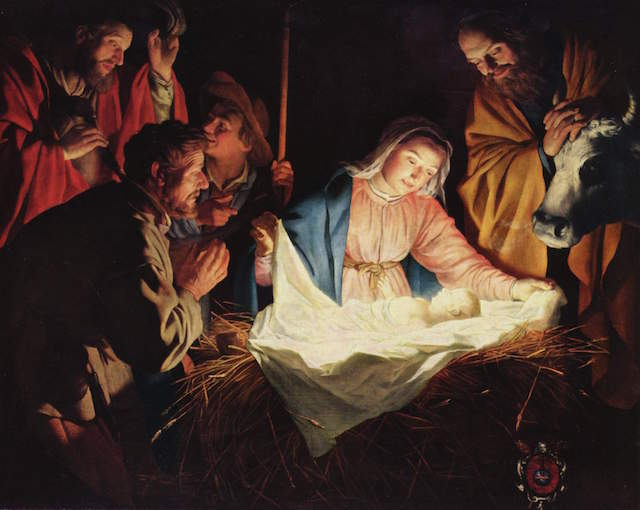 Song lyrics to 'Christ Was Born on Christmas Day', a traditional Christmas carol