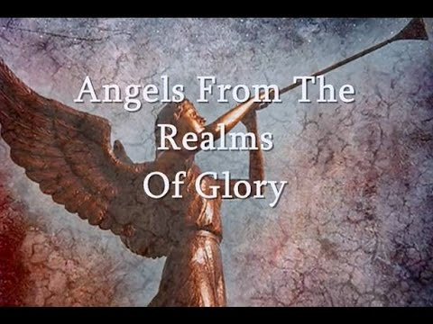 Song lyrics to Angels from the realms of glory by James Montgomery (1816)